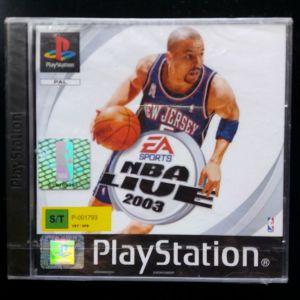 NBA LIVE 2003 ps1 game
