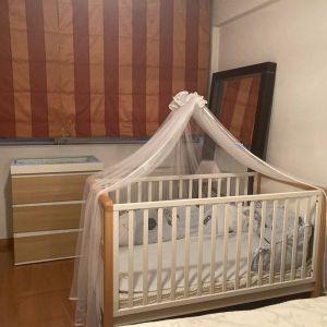 Παιδικό κρεβατάκι με στρώμα