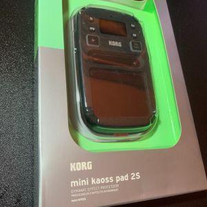 KORG mini kaoss pad 2S    (s- for sampler)