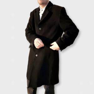 Παλτό μαύρο Vintage Η&Μ - Large!