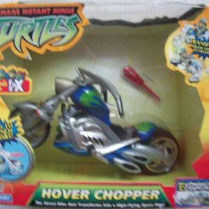 TMNT HOVER CHOPPER-PLAYMATES MIRAGE STUDIOS 2005
