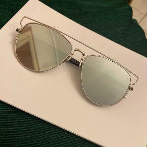 Γυαλιά με ασημένιο καθρέφτη unisex