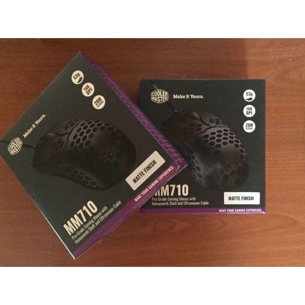 nea tiMi!! <<---- 2 x CoolMaster Gaming Mouse 710 sfragismena!