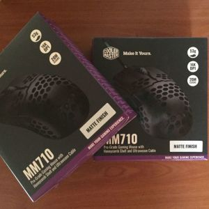 2 x CoolMaster Gaming Mouse 710 Σφραγισμένα!