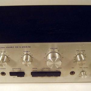 Ολοκληρωμενος ενισχυτης  SANYO  DCA-200UM