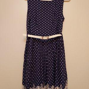 Ρομαντικο φορεμα Μπλε Πουα