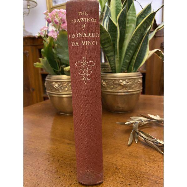 A.E.POPHAM THE DRAWINGS OF LEONARDO DA VINCI. ekdosi londino 1958. viomichaniki panodeti vivliodesia epochis. timi 30 efro.