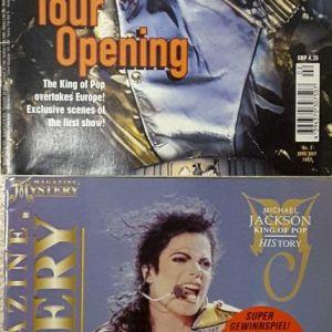 Michael Jackson Mystery collector magazine