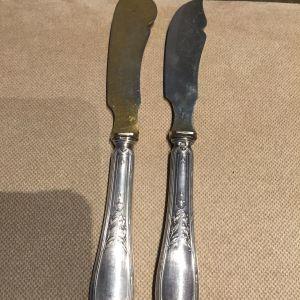 Μαχαιρακια επαλειψης αντικες ασημενια