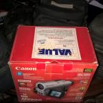 canon   mini dv mv200