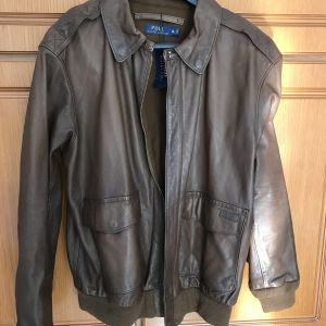 Polo Ralph Lauren type A-2 leather jacket