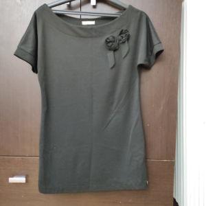 Κοντομανικο μαύρο μπλουζοφορεμα m