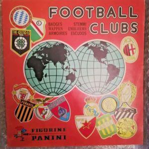Football clubs 75 album complete panini πανίνι άλμπουμ