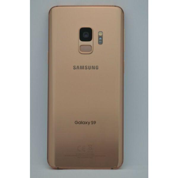 Samsung Galaxy S9 Gold Original (64GB) ekthesiako 9 mines engiisi
