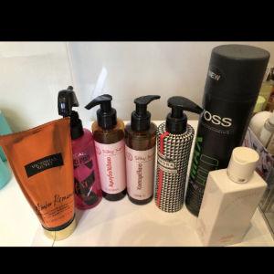 Προϊόντα μαλλιών και σώματος ΟΛΑ 35 ευρω