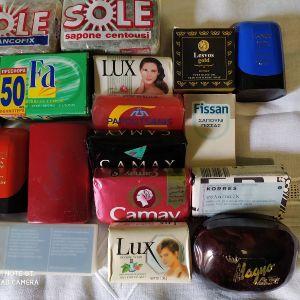Συλλογή από 20 σαπούνια πολυτελειας.