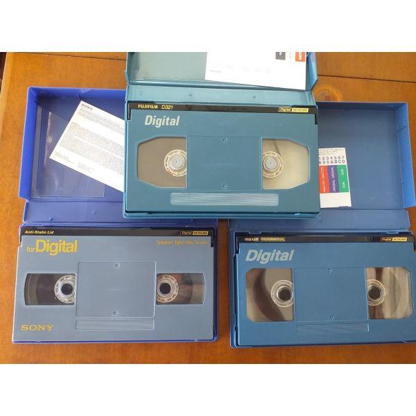 kasetes Digital BETACAM D94 Sony-FUJIFILM-Maxell