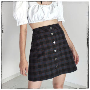 [ ΦΟΥΣΤΑ ] Goth mini skirt