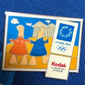 Pins 2004   Αναμνηστικές καρφίτσες Ολυμπιακών Αγώνων Αθήνα 2004