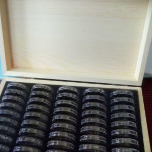 Κουτί με 50 κάψουλες και φλαπ