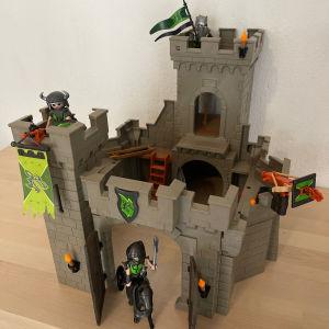 playmobil κάστρο ιπποτών του λύκου 6002