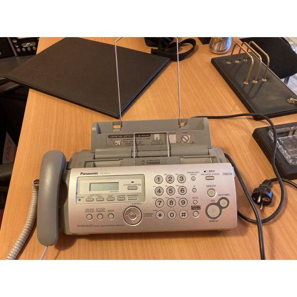 PANASONIC KX-FP215 + 2 melania achrisimopiita, michani fax, tilefono, ichografisi minimaton se timi efkerias