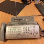 PANASONIC KX-FP215 + 2 Μελανια Αχρησιμοποίητα, Μηχανή Φαξ, Τηλέφωνο, Ηχογράφηση μηνυμάτων σε τιμή ευκαιρίας