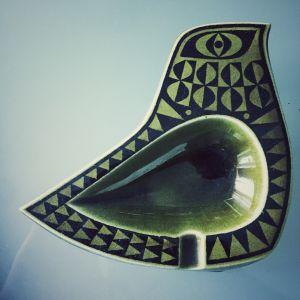 κεραμικό τασάκι Hornsea  1960 από τον σχεδιαστή John Clappison