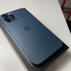 Apple iPhone 12 Pro Max 256gb pacific blue ελληνικό τιμη τελική χωρις ΠΑΖΑΡΙΑ και ΑΝΤΑΛΛΑΓΕΣ