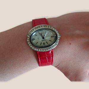 Ρολόι quartz κόκκινο