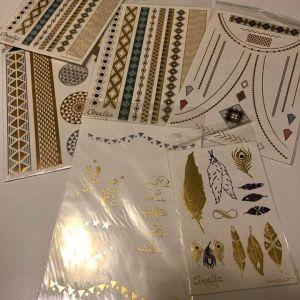 tatoos 6 καρτελες