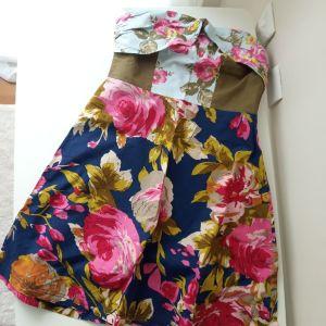 Tommy Hilfiger μίνι φλοραλ φόρεμα