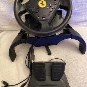 Τιμόνι και πετάλια Ferrari GT Racing Wheel, Thrustmaster