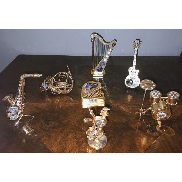 miniatoures mousika organa Crystal Temptations Swarovski