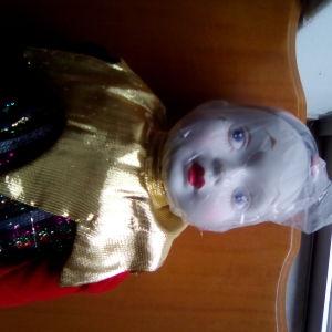 Πορσελάνινη κούκλα πιερότος από Αμερική