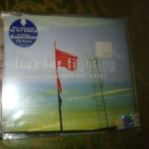 CD S ΣΦΡΑΓΙΣΜΕΝΟ-FIVE FOR FIGHTING-SUPERMAN[ITS NOT EASY]