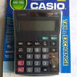 Αριθμομηχανή Casio 10 ψηφίων MS-10S
