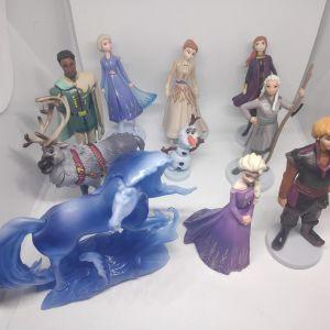 10 Συλλεκτικες Φιγουρα Frozen Disney