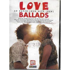 4 CD ΚΑΣΕΤΊΝΑ  LOVE BALLADS / ORIGINAL CD