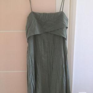 φόρεμα πράσινο ελιά , βαμβακερό