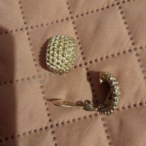 Ασημένια σκουλαρίκια vintage.
