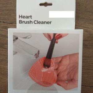 Καθαριστής Βουρτσών και Πινέλων για Μακιγιάζ Heart InnovaGoods