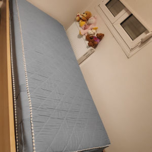 Μονο κρεβάτι με στρώμα