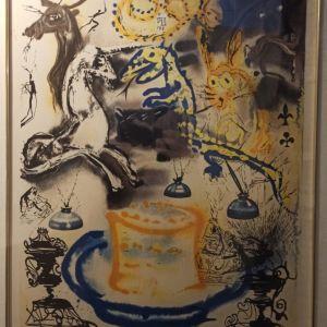 Λιθογραφία του Salvador Dali