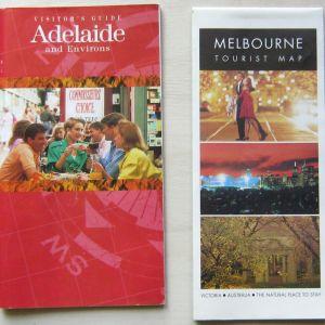 Αυστραλία - χάρτες/ταξιδ. οδηγοί (1990-2000)