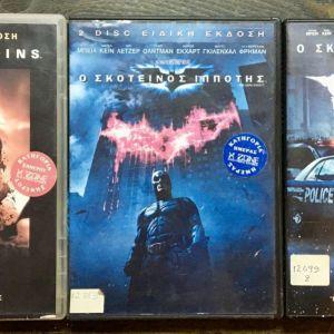 3 Original DvD - Batman 1 + 2 + 3