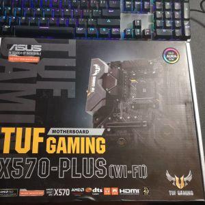 Motherboard. Asus TUF Gaming X570-Plus (WI-FI) Motherboard ATX με AMD AM4 Socket