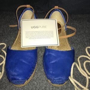 Παπούτσια δερμάτινα σουέτ UGG AUSTRALIA