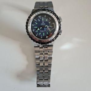 ΡΟΛΟΪ Mortima Super Automatic, Waterproof 100%,17 Jewels με ένδειξη ημερομηνίας κ.λ.π.