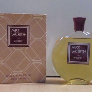 Miss Worth eau de parfum 250ml